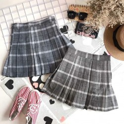 Plaid skirt 1105