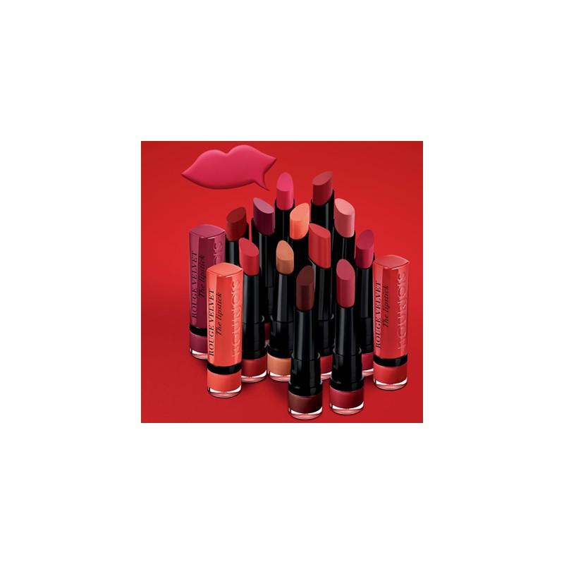 Lipstick Bourjois Rouge Velvet The Lipstick