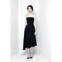 Đầm xòe đen 2 day dai ngoc... 1285