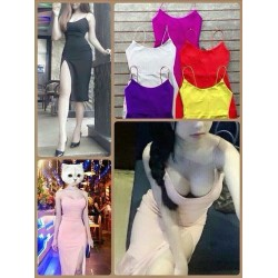 Body dress with strap