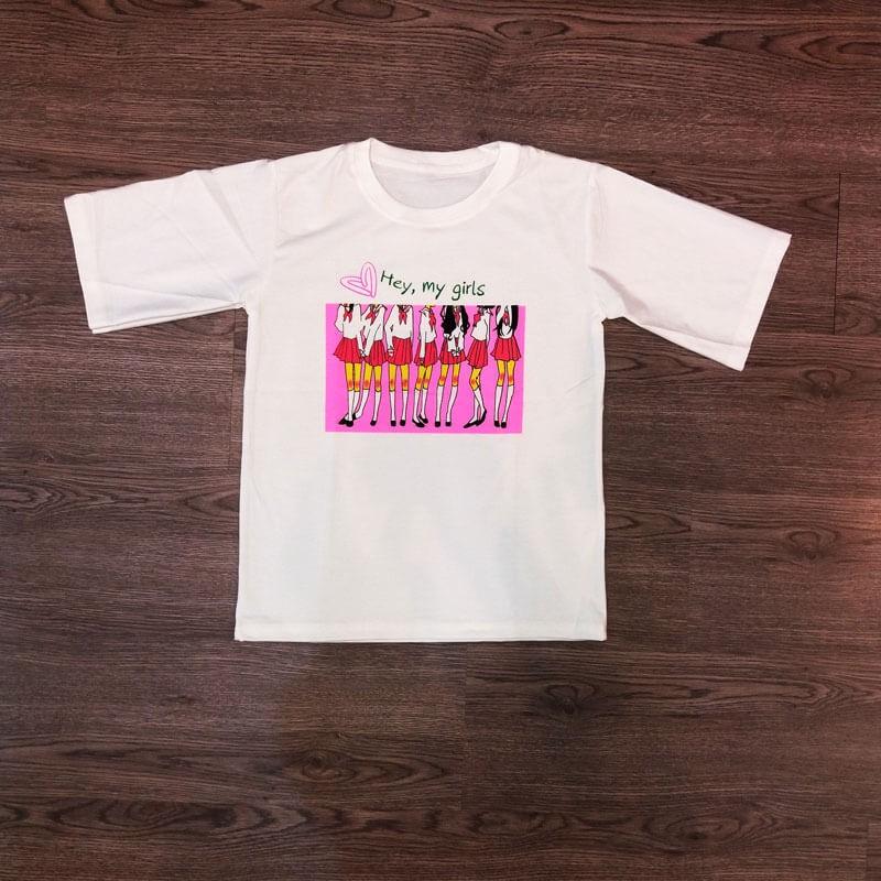 Tee shirt Hey, my girls