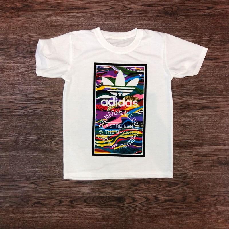 Áo thun Adidas họa
