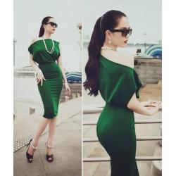 Đầm sang chanh Ngoc Trinh