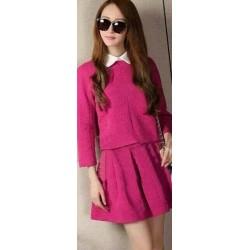 Đầm babe màu hồng 737