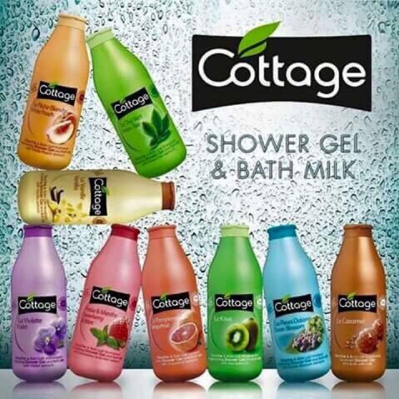 Shower gel and milk Cottage 750ml